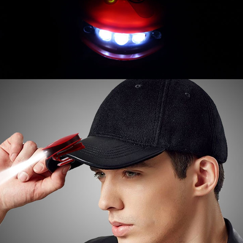2X-Headlight-Clip-Cap-Lamp-Durable-Smart-Usb-Charging-Lightweight-Infrared-M2I9 thumbnail 16
