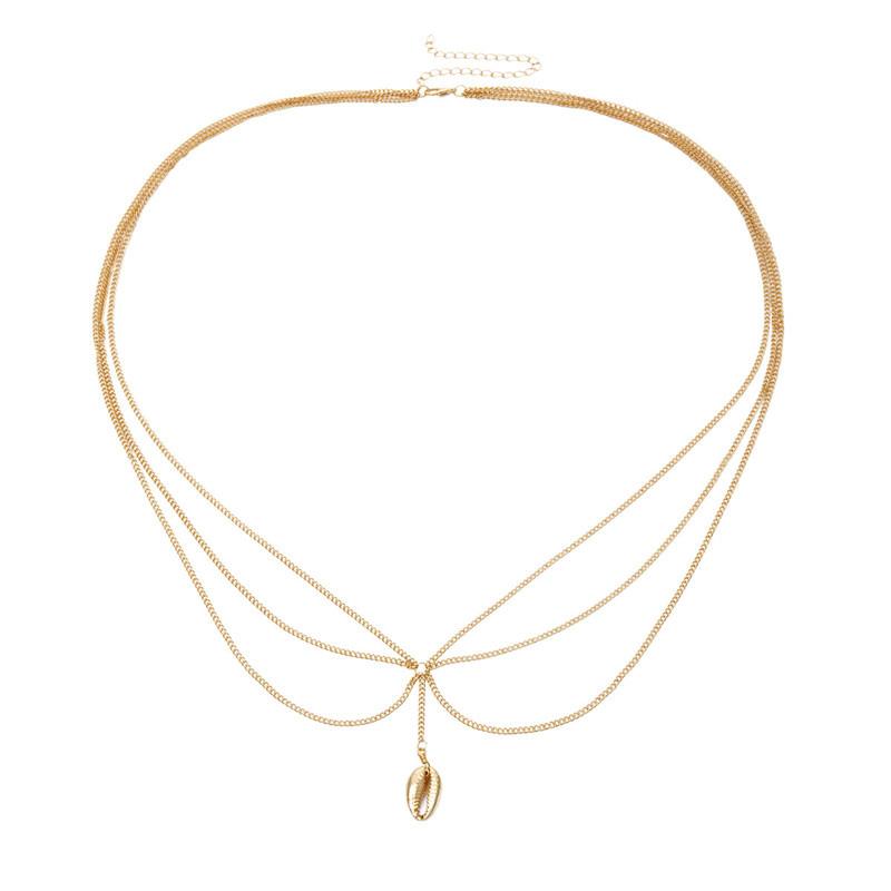Damen Kristall Choker Halskette Einfache Quaste Kette Kragen Gothi Punk Schmuck^