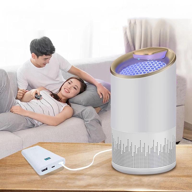 2X-LaMpara-EleCtrica-para-Matar-Mosquitos-Led-Bug-Zapper-Anti-Mosquito-Kill-O6V8 miniatura 5