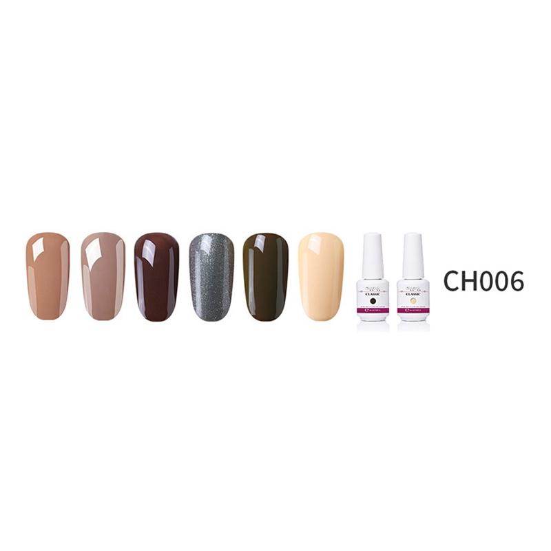 2X-GRAEAR-Nail-Polish-Glue-Set-6-Piece-Set-8Ml-Solid-Color-Nail-Polish-Glue-J9T5 thumbnail 35