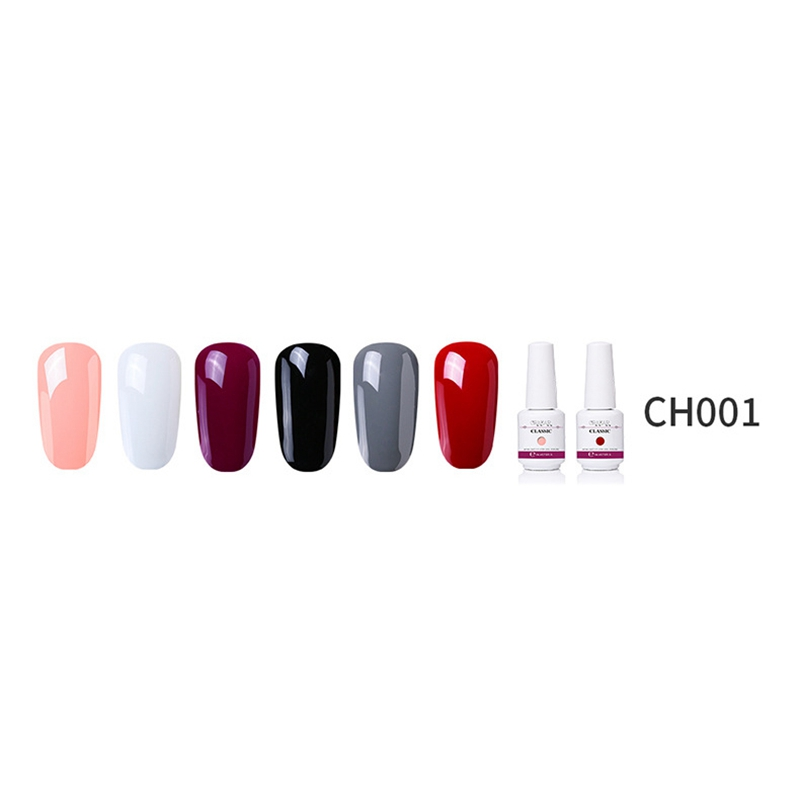 2X-GRAEAR-Nail-Polish-Glue-Set-6-Piece-Set-8Ml-Solid-Color-Nail-Polish-Glue-J9T5 thumbnail 41