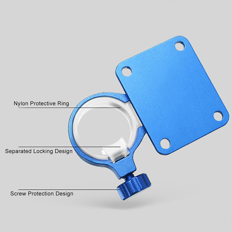 2X-Aluminum-Magnesium-Alloy-Folding-Umbrella-Holder-Stand-For-Fishing-Umbre-I7I4 thumbnail 4