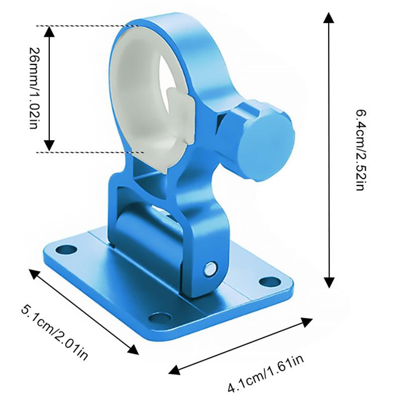 2X-Aluminum-Magnesium-Alloy-Folding-Umbrella-Holder-Stand-For-Fishing-Umbre-I7I4 thumbnail 7