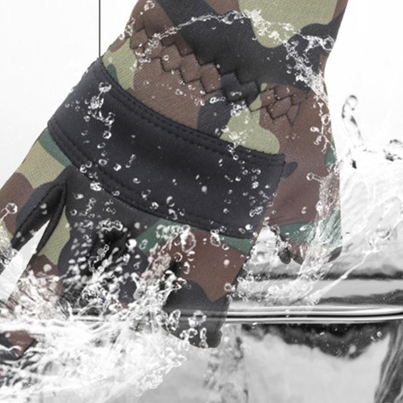 Hombres-Guantes-de-Pesca-Guantes-Protectores-de-Pesca-Antideslizantes-al-Ai-O3W6 miniatura 3