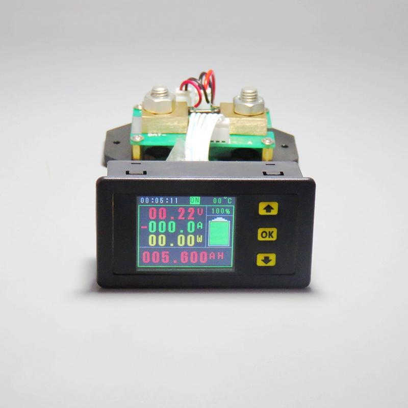 2X-Dc-120-V-Lcd-Combo-Meter-Spannung-Strom-Kwh-Watt-Meter-12-V-24-V-48-V-96Q4W4 Indexbild 4