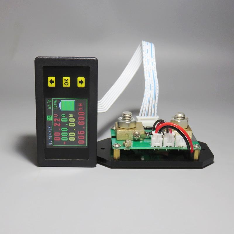 2X-Dc-120-V-Lcd-Combo-Meter-Spannung-Strom-Kwh-Watt-Meter-12-V-24-V-48-V-96Q4W4 Indexbild 5
