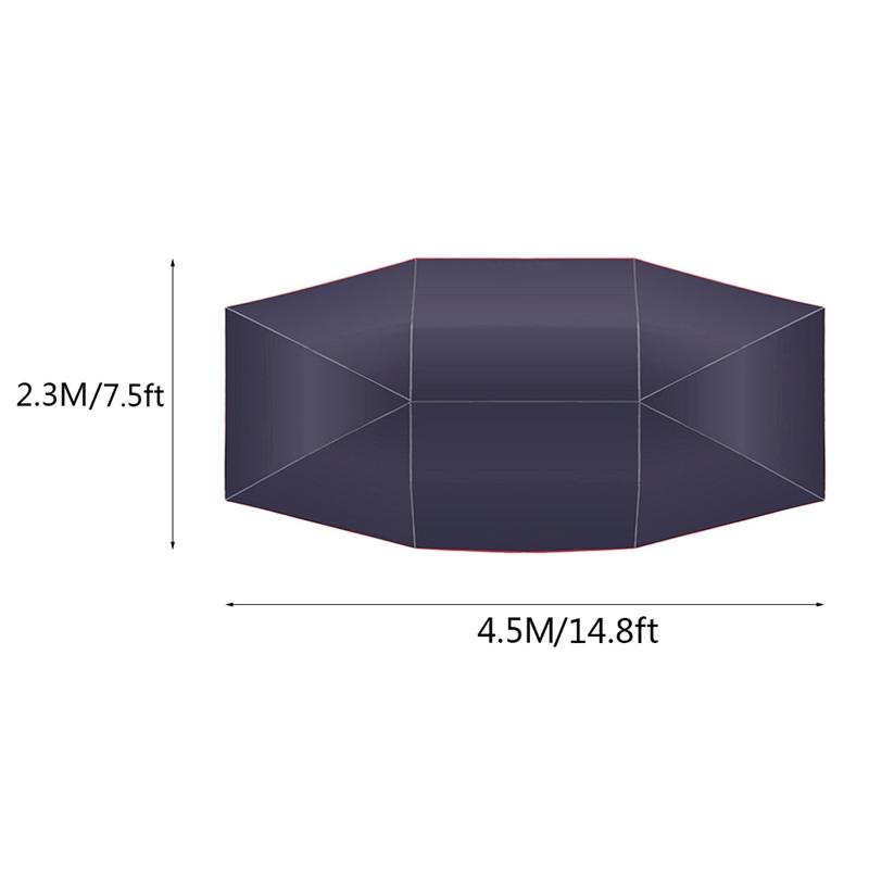 4-5X2-3M-Nouvelle-Voiture-en-Plein-Air-VeHicule-Tente-de-Voiture-Parapluie-A5Q6 miniature 5