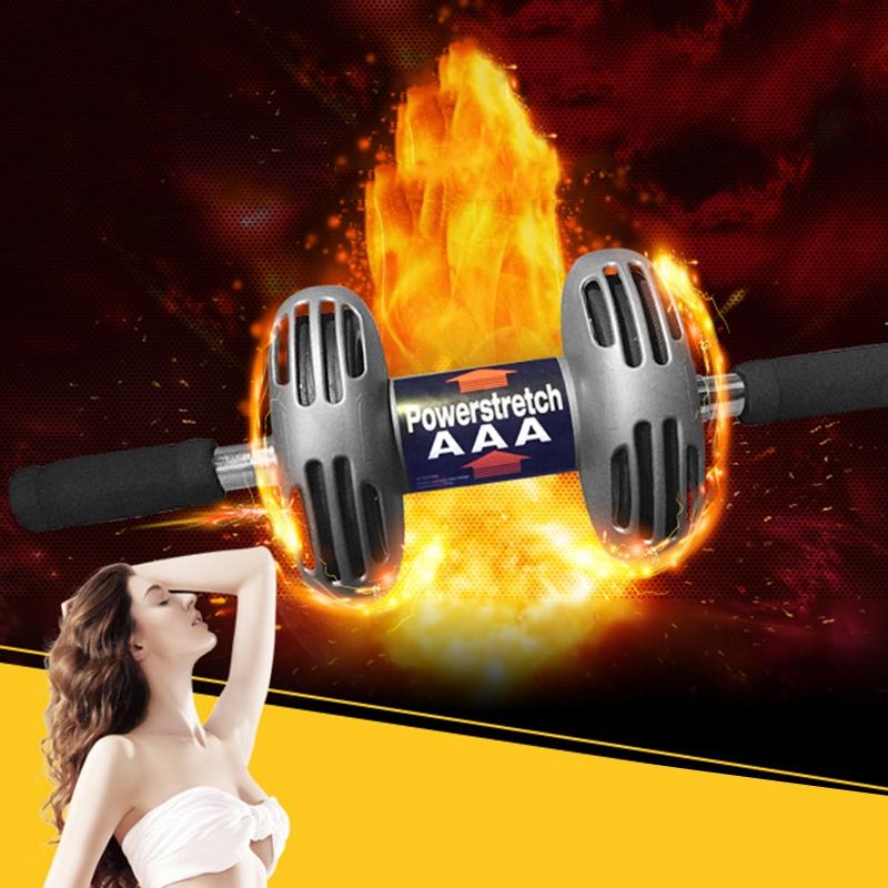 1X Roue D/'Exercice Abdominale Appareil Multifonctionnel Abdominal Double Re M8U3