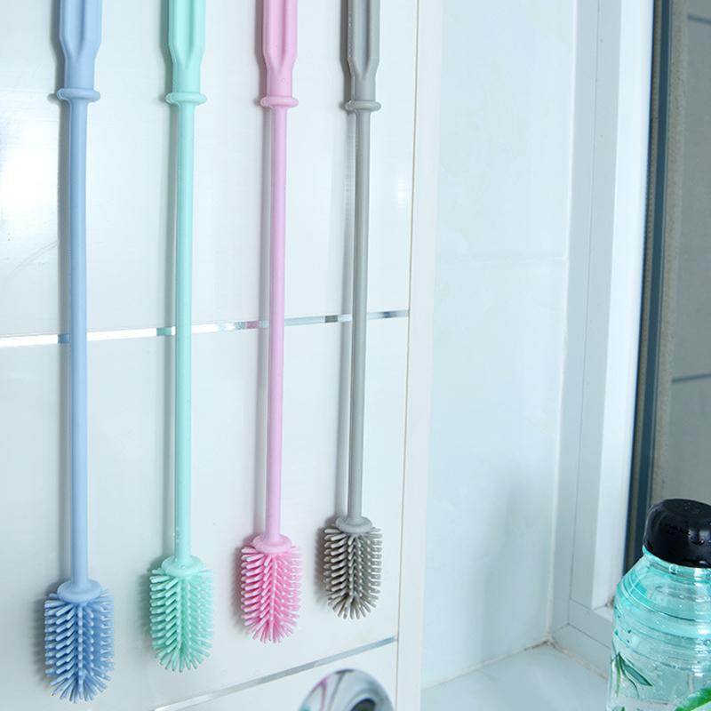 Flaschenbürste Flasche Scrubbing Silikon Küchenreiniger zum Waschen Reinigung