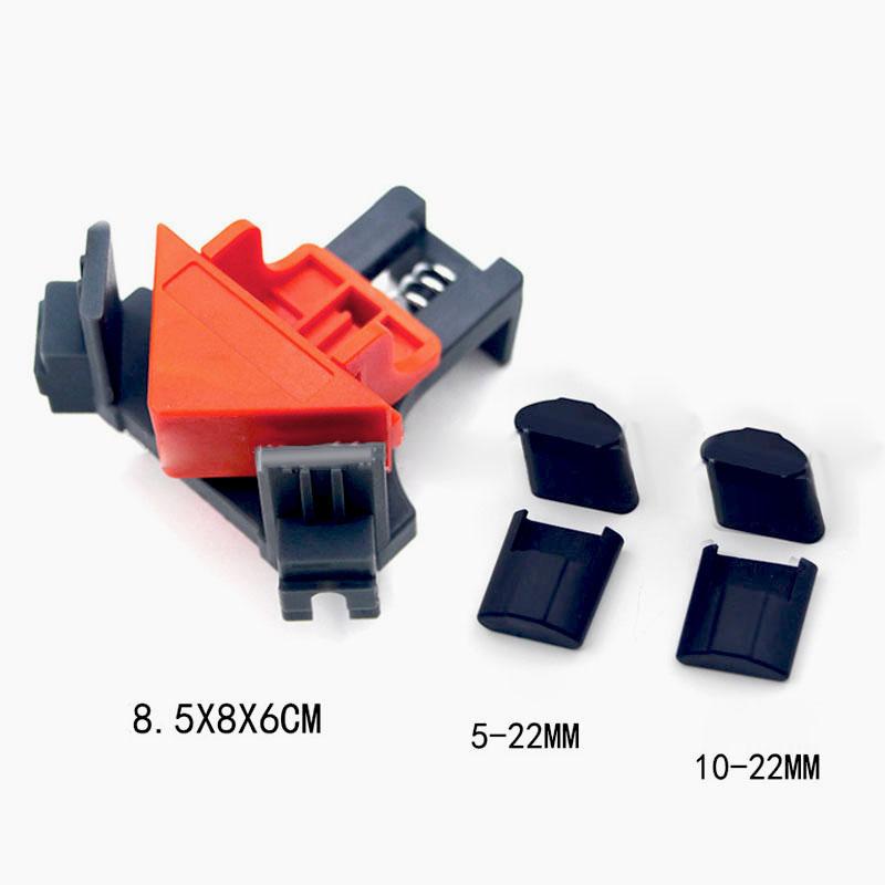 Outil-a-Main-pour-le-Bois-Kit-de-Support-de-Pince-pour-Angle-de-Cadre-de-Ph-E6V6 miniature 5