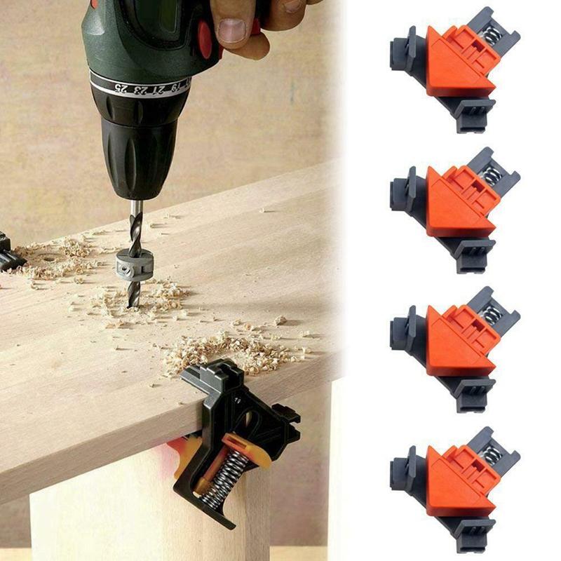 Outil-a-Main-pour-le-Bois-Kit-de-Support-de-Pince-pour-Angle-de-Cadre-de-Ph-E6V6 miniature 8