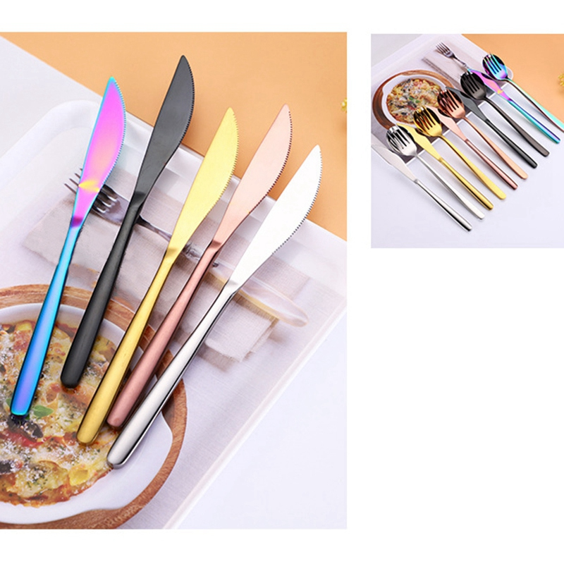 1X-New-9-Pcs-Set-Portable-Stainless-Steel-Cutlery-Set-Knife-Fork-Spoon-Stra3B8 thumbnail 4
