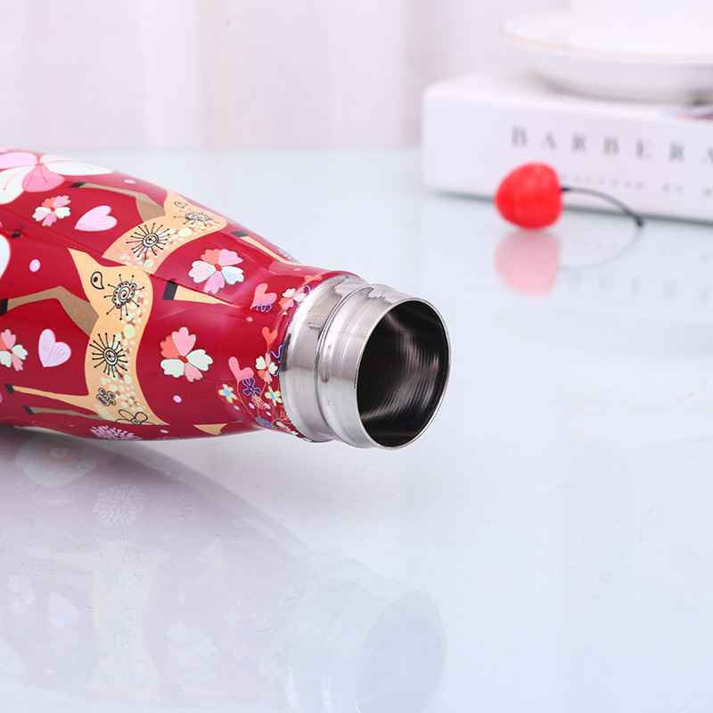 500Ml-Double-Walled-Vacuum-Flask-Insulated-Stainless-Steel-Water-Bottle-Leak-Pro thumbnail 5