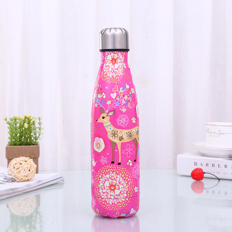 500Ml-Double-Walled-Vacuum-Flask-Insulated-Stainless-Steel-Water-Bottle-Leak-Pro thumbnail 13