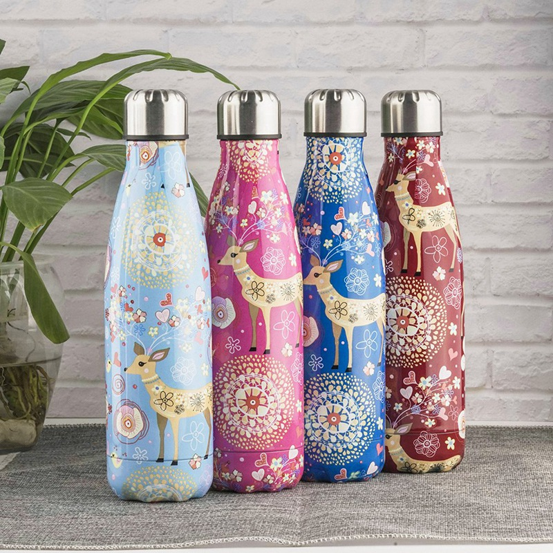 500Ml-Double-Walled-Vacuum-Flask-Insulated-Stainless-Steel-Water-Bottle-Leak-Pro thumbnail 35