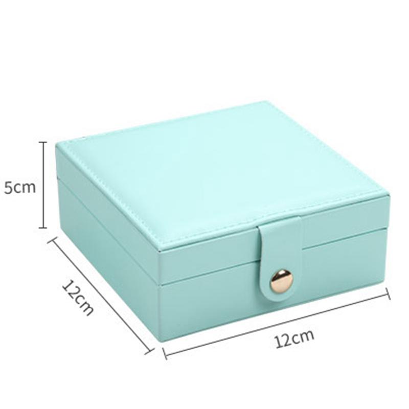CASEGRACE-Jewelry-Box-Portable-Storage-Organizer-Zipper-Portable-Women-Disp-G5H5 thumbnail 2