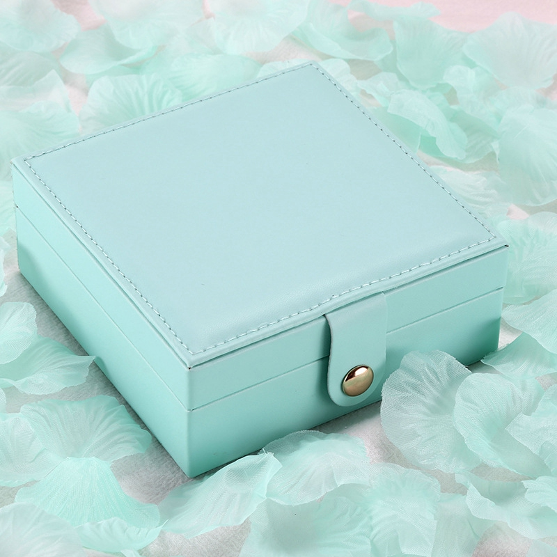 CASEGRACE-Jewelry-Box-Portable-Storage-Organizer-Zipper-Portable-Women-Disp-G5H5 thumbnail 5