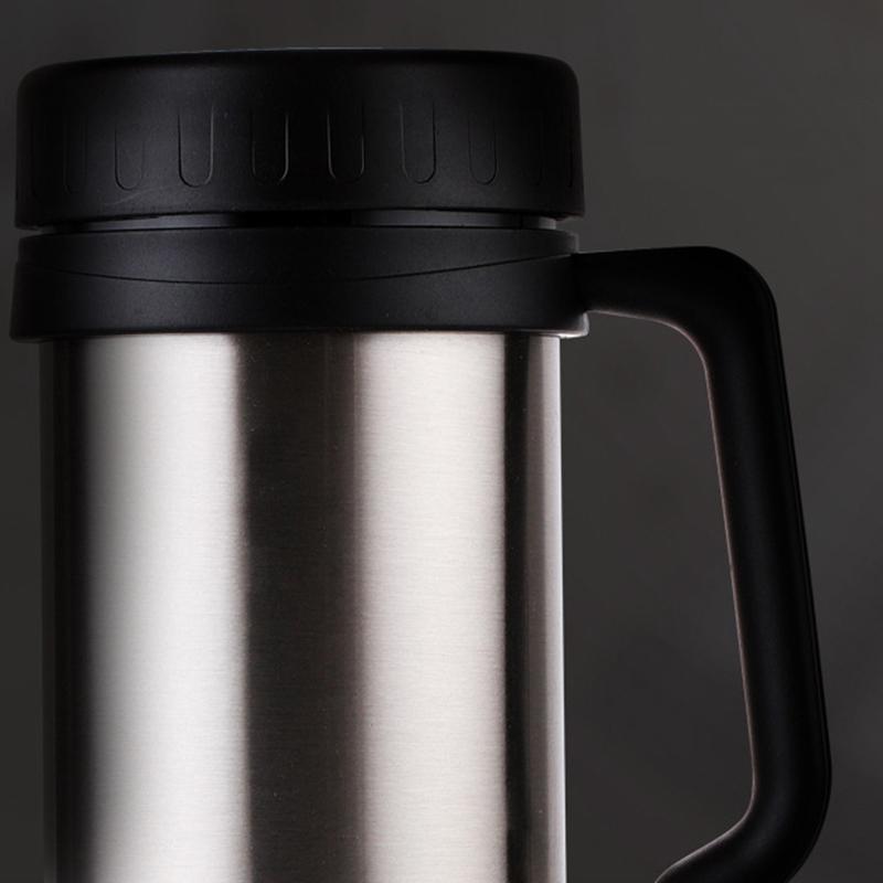 500-Ml-Thermo-Becher-Edelstahl-Vakuum-Flaschen-mit-Griff-Thermo-Tasse-Y1R9 Indexbild 5