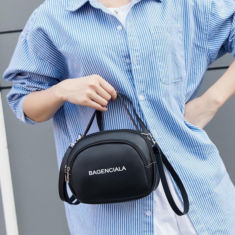 Fashion-Letter-Decoration-Trend-Umhaengetasche-Japan-und-Suedkorea-New-Shell-H5G1 Indexbild 3