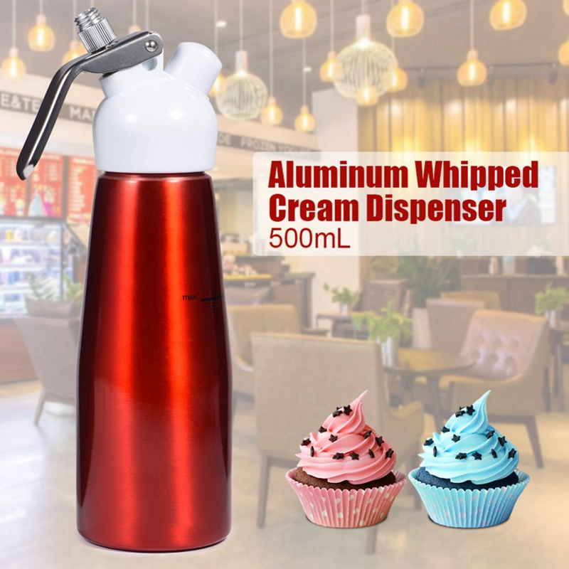 1X-500Ml-Aluminum-Whipped-Dessert-Cream-Butter-Dispenser-Whipper-Foam-MakerM5E8 thumbnail 12