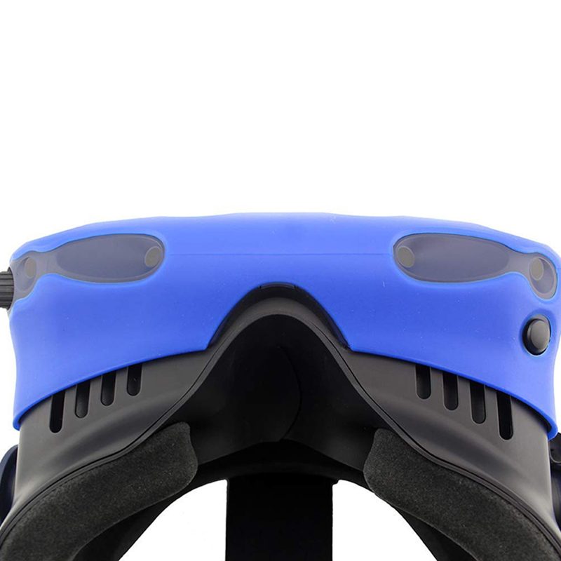 For-Htc-Vive-Pro-Vr-Virtual-Reality-Headset-Silicone-Rubber-Vr-Glasses-HelmeN6S1 thumbnail 3