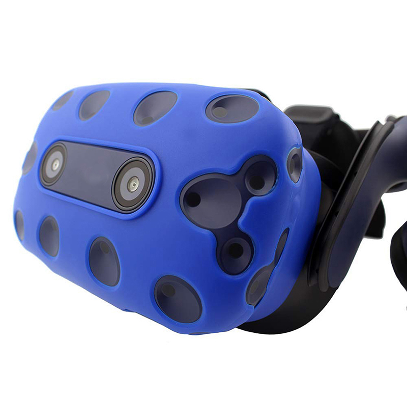 For-Htc-Vive-Pro-Vr-Virtual-Reality-Headset-Silicone-Rubber-Vr-Glasses-HelmeN6S1 thumbnail 4