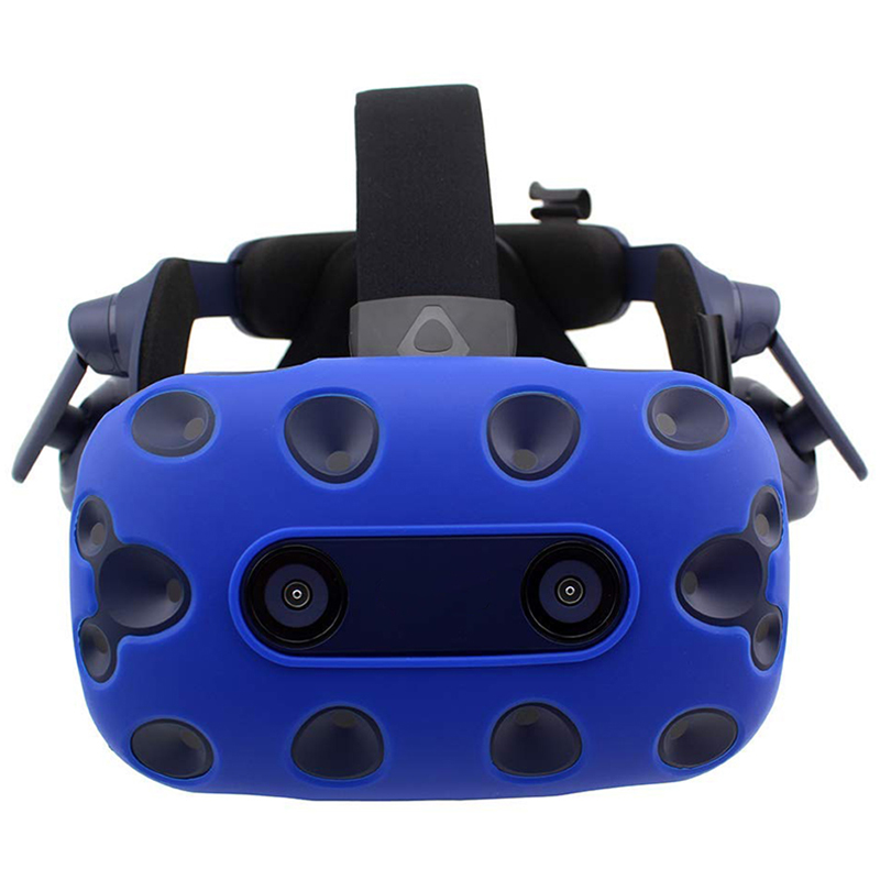 For-Htc-Vive-Pro-Vr-Virtual-Reality-Headset-Silicone-Rubber-Vr-Glasses-HelmeN6S1 thumbnail 6