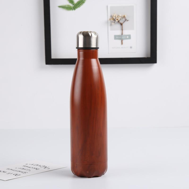 Double-Walled-Vide-Bouteille-Isotherme-en-Acier-Inoxydable-Flask-Fuite-D-039-Ea-K7J2 miniature 10