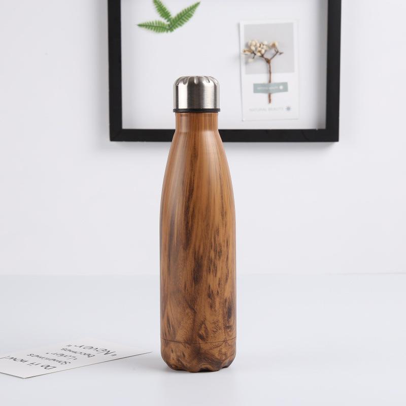 Double-Walled-Vide-Bouteille-Isotherme-en-Acier-Inoxydable-Flask-Fuite-D-039-Ea-P8N5 miniature 10