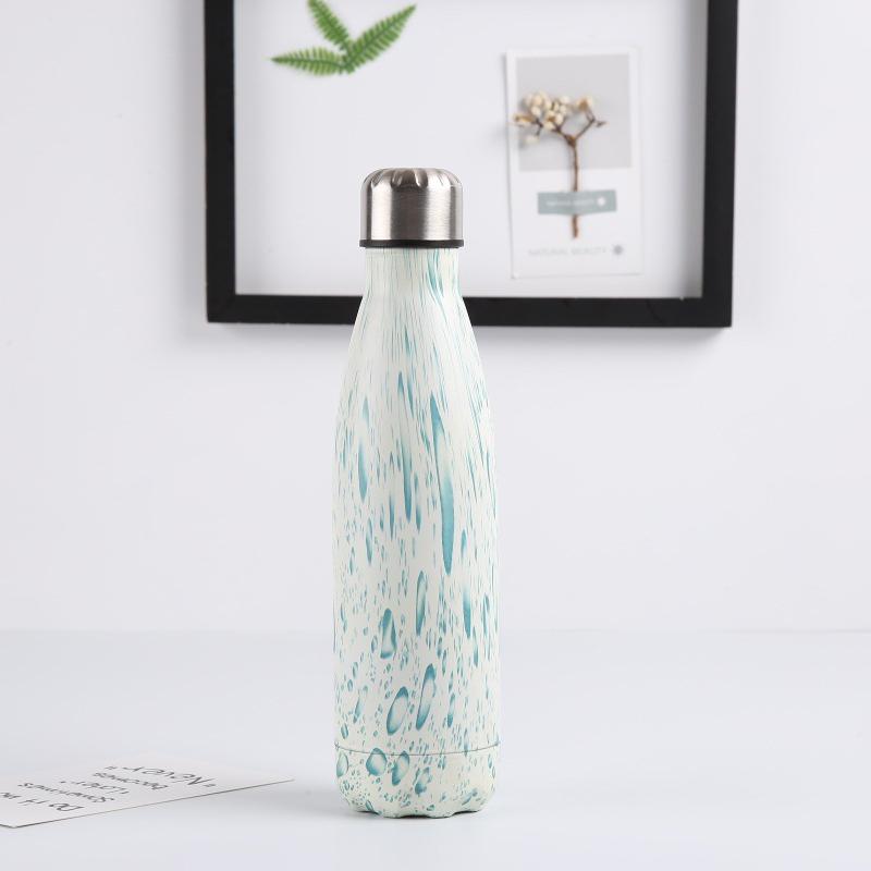 Double-Walled-Vide-Bouteille-Isotherme-en-Acier-Inoxydable-Flask-Fuite-D-039-Ea-K7J2 miniature 32
