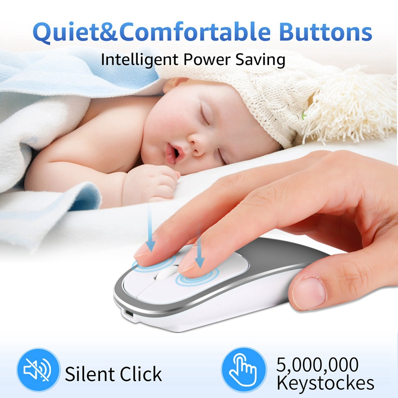 2X-Metall-Bluetooth-und-2-4-G-Wireless-Mouse-Alloy-Ultra-Thin-Recharge-Trag-S7K5 Indexbild 20
