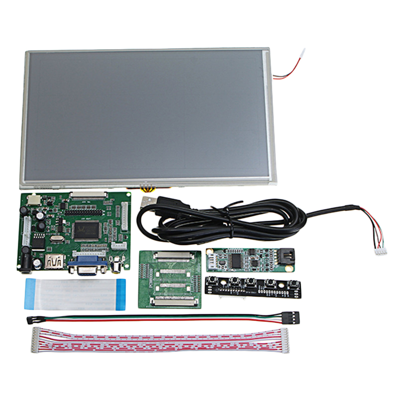 9-Inch-Digital-Lcd-Press-Screen-1024X600-Tft-Monitor-Hdmi-Vga-Driver-Board-I3T6