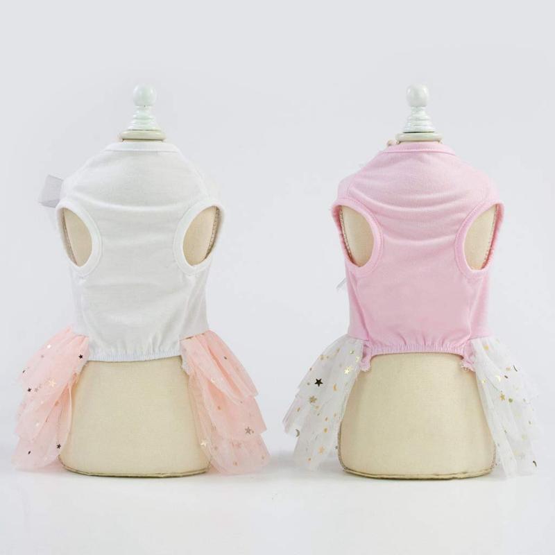 Animal-de-Compagnie-Robe-Lapin-Mignon-Decor-Chien-Tutu-Princesse-Robe-de-M-G7T1 miniature 7