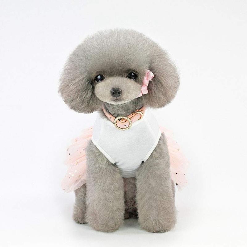 1X-Animal-de-Compagnie-Robe-Lapin-Mignon-Decor-Chien-Tutu-Princesse-Robe-d-A8A9 miniature 4