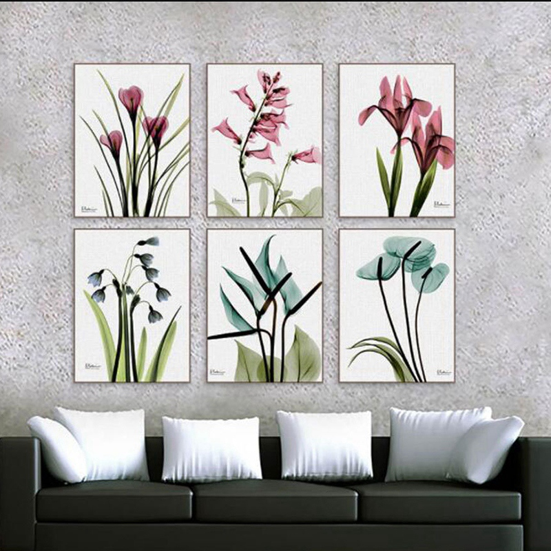 1X-3Pcs-Beautiful-Elegant-Flowers-Pictures-Prints-on-Canvas-Wall-DecorationB2X7 thumbnail 9