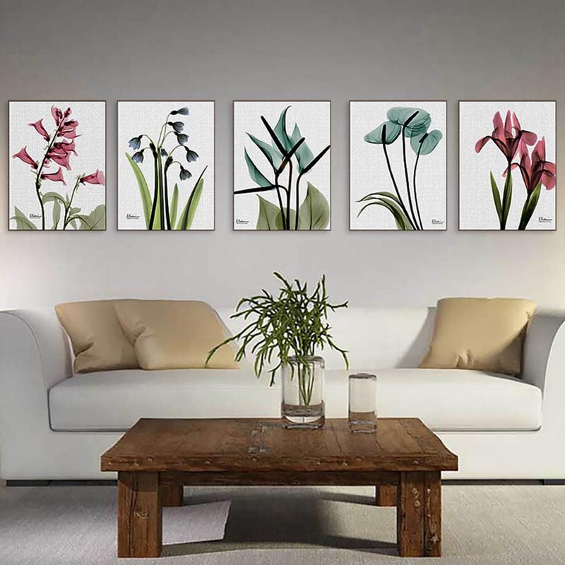 1X-3Pcs-Beautiful-Elegant-Flowers-Pictures-Prints-on-Canvas-Wall-DecorationB2X7 thumbnail 10