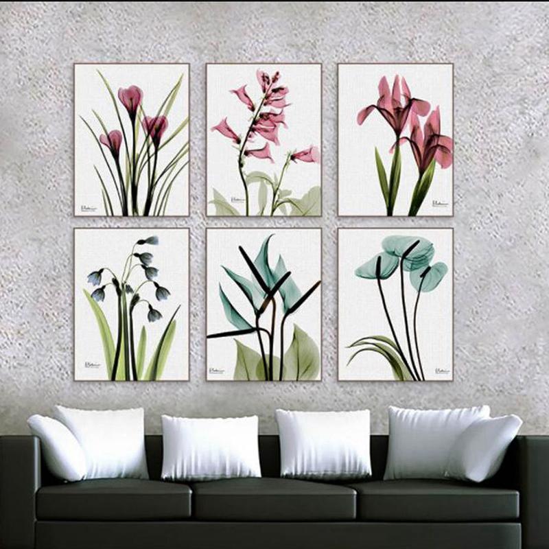 1X-3Pcs-Beautiful-Elegant-Flowers-Pictures-Prints-on-Canvas-Wall-DecorationB2X7 thumbnail 16