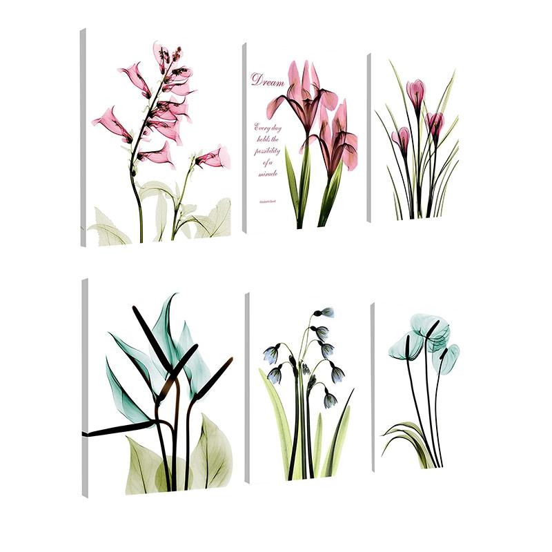 1X-3Pcs-Beautiful-Elegant-Flowers-Pictures-Prints-on-Canvas-Wall-DecorationB2X7 thumbnail 18