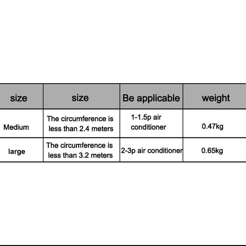 1X-Aire-Acondicionado-Tapa-Lavado-Acondicionador-de-Aire-Montado-en-la-Pare-J2I7 miniatura 7
