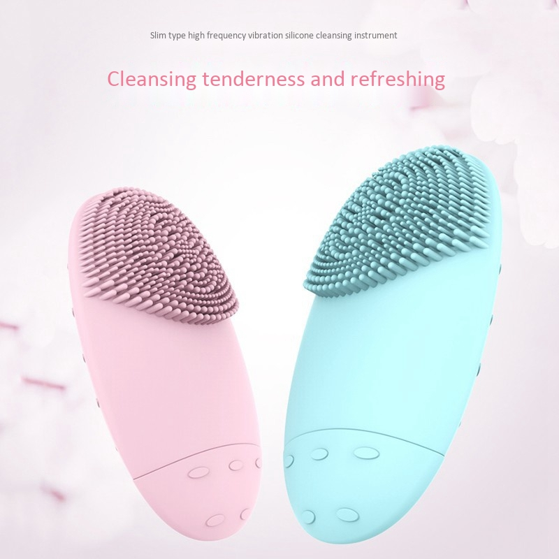 Electric-Facial-Cleansing-Brush-Lansing-Mini-2-Skin-No-Dead-Corner-Pore-Dir-F8P9 thumbnail 3