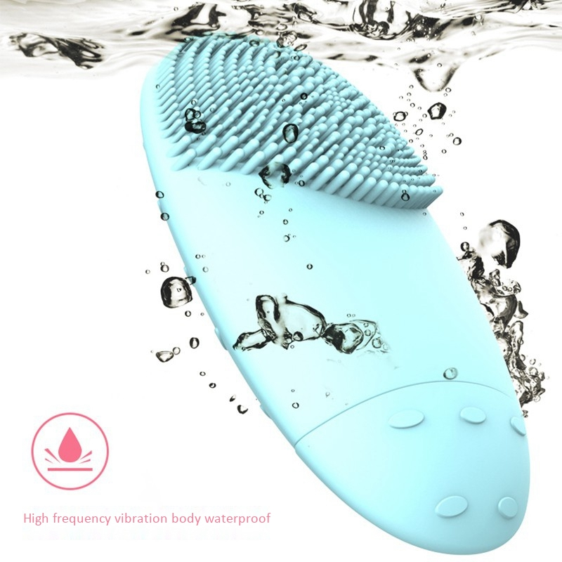 Electric-Facial-Cleansing-Brush-Lansing-Mini-2-Skin-No-Dead-Corner-Pore-Dir-F8P9 thumbnail 8