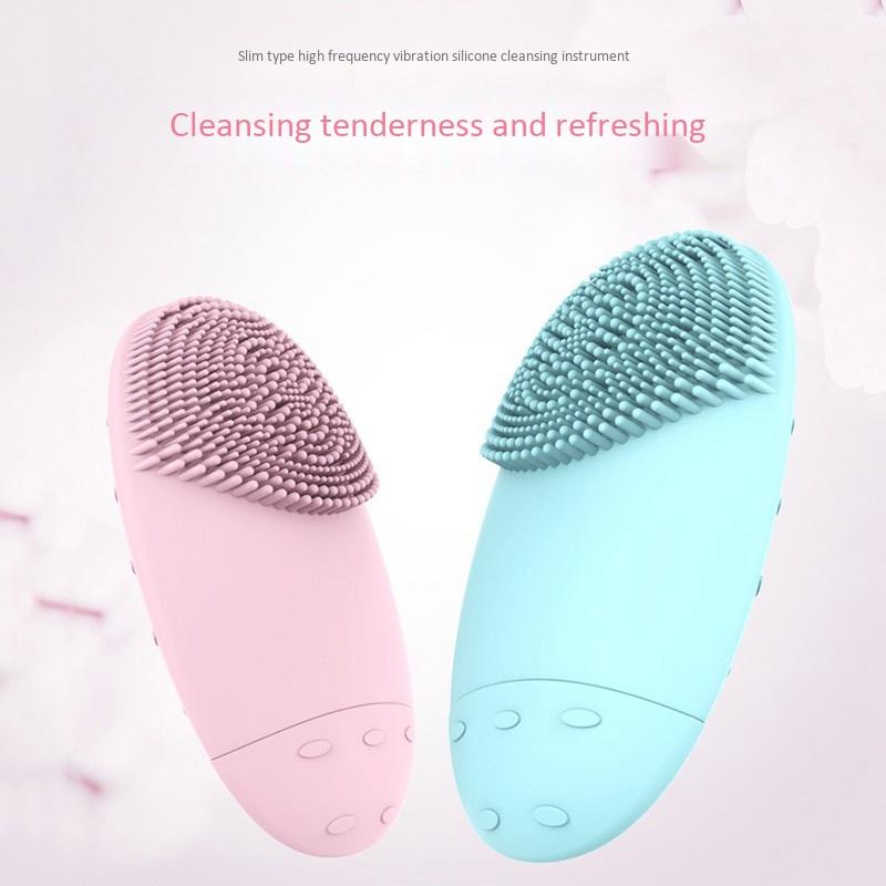 Electric-Facial-Cleansing-Brush-Lansing-Mini-2-Skin-No-Dead-Corner-Pore-Dir-F8P9 thumbnail 13