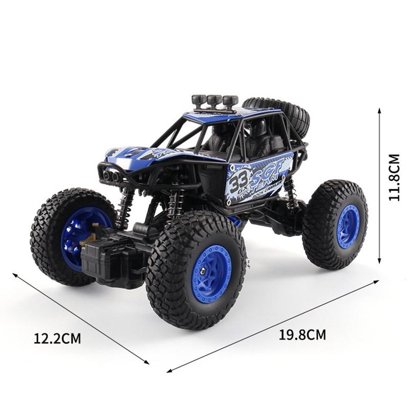 1X-Rc-Car-1-20-4Wd-Control-Remoto-de-Alta-Velocidad-Vehiculo-2-4-Ghz-Electr-S6N7 miniatura 2