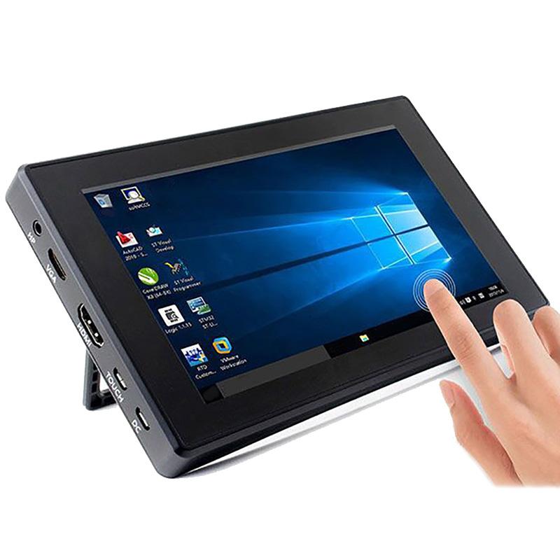 For-Raspberry-Pi-3-Model-B-Plus-3B-7-Inch-1024X600-Ips-Capacitive-Press-Z8N4 thumbnail 4