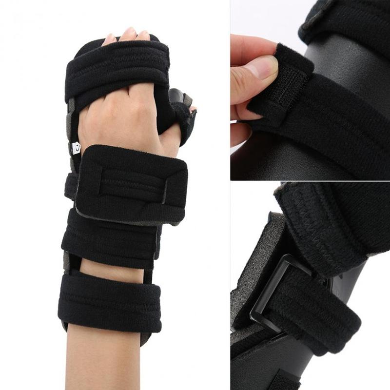 Einstellbare-HandgelenkstueTze-Schutz-Handtraining-Verstauchung-Arthritis-Sc-W2H5 Indexbild 5