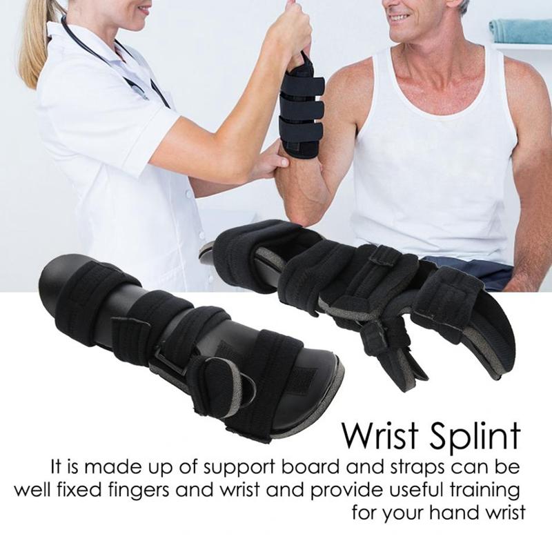 Einstellbare-HandgelenkstueTze-Schutz-Handtraining-Verstauchung-Arthritis-Sc-W2H5 Indexbild 7
