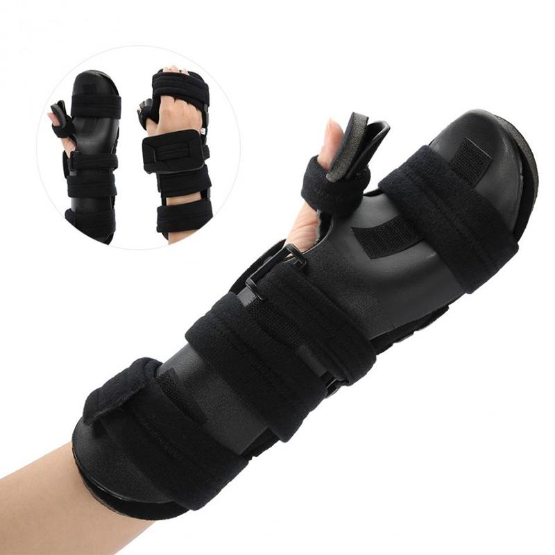 Einstellbare-HandgelenkstueTze-Schutz-Handtraining-Verstauchung-Arthritis-Sc-W2H5 Indexbild 8
