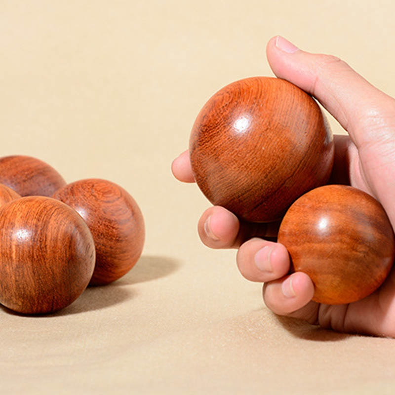 Wooden-Stress-Baoding-Ball-Health-Exercise-Handball-Finger-Massage-Chinese-L8F4 thumbnail 3
