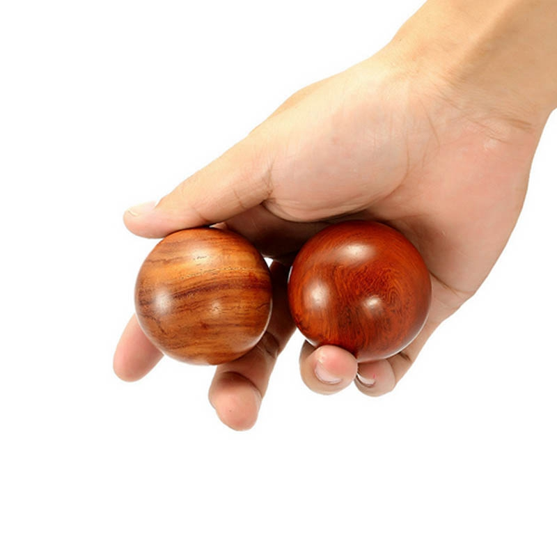 Wooden-Stress-Baoding-Ball-Health-Exercise-Handball-Finger-Massage-Chinese-L8F4 thumbnail 7