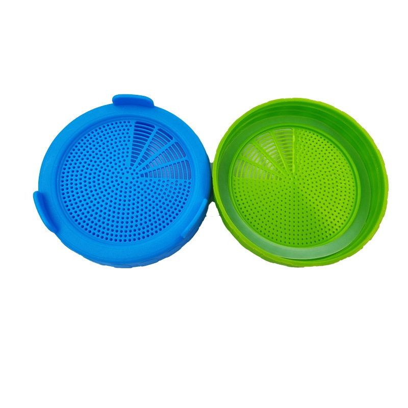 4Pcs-Sprouting-Lids-Food-Grade-Mesh-Sprout-Cover-Kit-Seed-Growing-Germinati-Z3W2 thumbnail 3